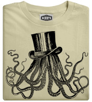 Octotop Octopus with top hat