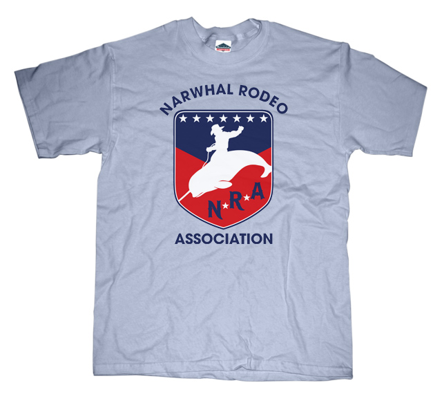 Narwhal Rodeo Association T-shirt